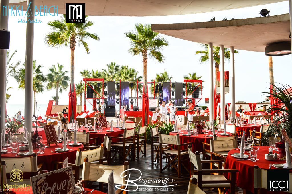 Icci events Nikki Beach Red Party 1