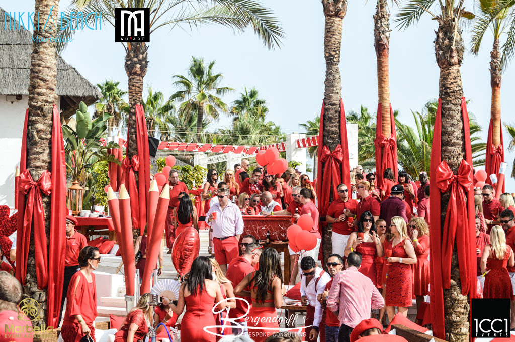 icci events Nikki Beach Red Party 8