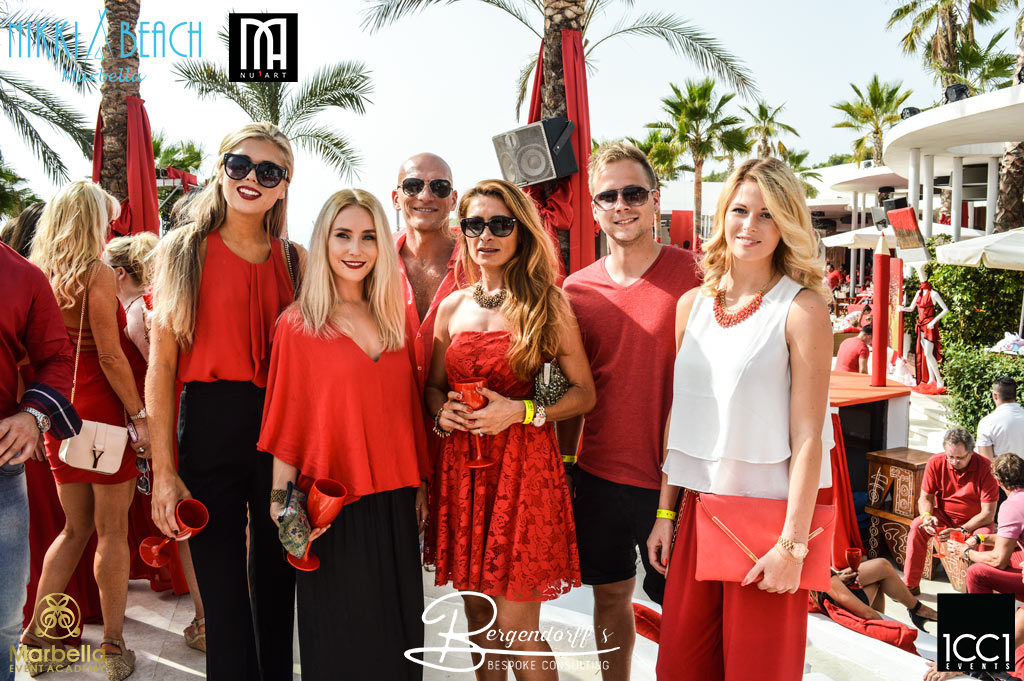 icci events Nikki Beach Red Party 9